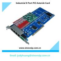 Best 8 Port PCI Asterisk Card for Voip IPPBX wholesale
