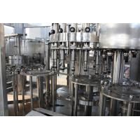 Quality Can Sealing Hot Fill Bottling Equipment40 Rinsing Heads 12 Mouths Warranty for sale