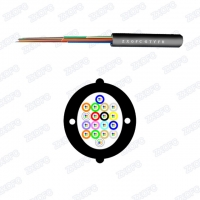 Quality indoor 12-144 cores non-stick customizable pull-out optical cable for sale