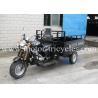 DRUM Steel Plate Cargo Three Wheeler Motorcycle With 2130mm Wheel Base