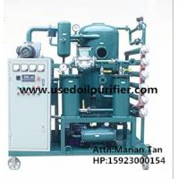 Quality ZJA Double-Stage Vacuum Transformer Oil and Insulation Oil Purification Plant for sale