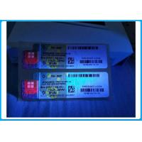 Quality Functional COA License Sticker Windows 8 Professional OEM Pink / Blue Color for sale