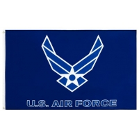 Quality US Air Polyester Fabric Rectangle Banner Flags for sale
