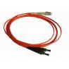 Best UPC / APC Multimode Optical Fiber Patch Cable with FC / SC / LC / DIN / D4 / ST Connector wholesale