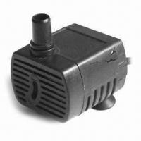 Quality Aquarium Submersible Water Pump, Brushless DC with 2 Bar Bearing Pressure and 4.5 to 12V DC Voltage for sale