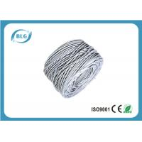 Buy cheap UTP Gray Cat5e Lan Cable 305m Conductor 4 Pairs CCA 0.48mm HD-PE Insulation PVC Jacket from wholesalers