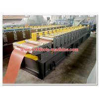 Quality Corrugated Metal Roof Ridge Cap Sheets Roll Forming Line with No. 45 High Quality Steel Rolling System for sale