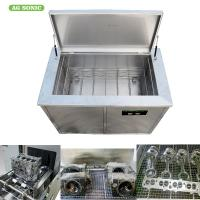 Quality Engine Block Industrial Ultrasonic Parts Cleaner 300l 3000w ForFat Motor Blind Cleaning for sale