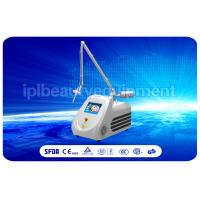 Quality Glass tube Fractional Co2 Laser Machine For burn scar removal , Improve skin laxity for sale