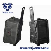Buy cheap 800 Watt Portable High Power Signal Jammer Wireless 200 - 300m Range from wholesalers