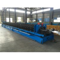 Quality Heavy Duty Perforated Ladder Cable Tray Roll Forming Machine With Automatic Size Adjusting for sale