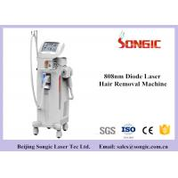 600w High Power 808nm Diode Laser Hair Removal Machine Vertical Type White Color for sale