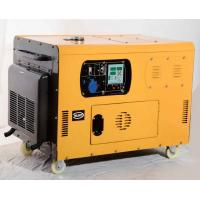 Quality HOT SALE  10kw silent diesel generator  single phase portable type for home use for sale