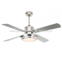 """Quality 52 inch Industrial remote ceiling fan with LED light/cooling air circulation/52"""" Ventilador de techo for sale"""