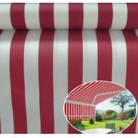 Quality Sunshade Polyster Fabric Yellow Stripe Outdoor UV Protection Polyester Fabric Awnings, Boat covers, bimini tops, sail-co for sale