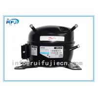 Quality R404A/ R134A/R22 CE Small and black Secop hermetic Danfoss Freezer Refrigeration Compressor for sale