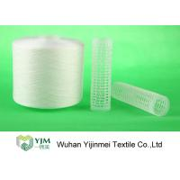 Quality Strong TFO White Dyed Polyester Spun YarnFor High Speed Sewing Machine for sale