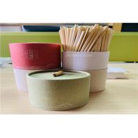 Buy cheap Organic Biodegradable Wheat Drinking Straw Eco Friendly With Customized Logo from wholesalers