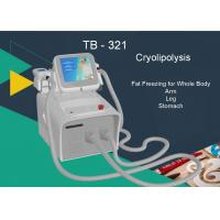 Quality Touch Screen Cryolipolysis Slimming Machine 2 Handles Lose Weight Fat Freezing Removal for sale