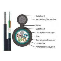 Best Aerial Fiber Optic Cable GYTC8S , Armoured Optical Fibre Cable For Outdoor Distribution wholesale