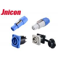 China 3 Pin PowerCon IP65 Waterproof Power Connector Male Female 20A For LED Screen on sale