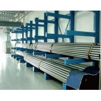 Quality Roller  Cantilever Storage Rack System  , Tire Cantilever Pallet Rack Shelving  Galvanized for sale