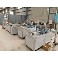 Buy cheap Nonwoven 3 Ply Mask Production Machine Automatic Disposable Mask Machine from wholesalers