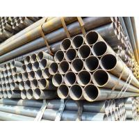 Cold-Drawn BS 1387 DIN 1626 Seamless ERW Steel Tube Thin Wall Pipe for Construction