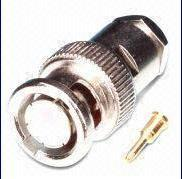 Best BNC Male Clamp Type Connector with Brass Body, Nickel Plating wholesale