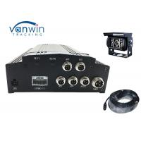 Quality H.264 Vehicle Mobile Dvr Kit 4ch Car Dvr Camera System With 3g Gps Wifi for sale