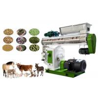 Quality Ring Die Animal Feed Processing Machinery and Equipment With Siemens Motor for sale