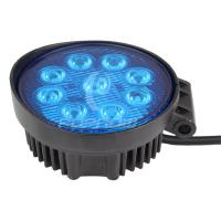 Quality IP67 4WD SUV Offroad LED Work Lights 27W Blue with Spot flood Lamp for sale