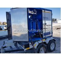 Quality Mobile Trailer Mounted Vacuum Transformer Oil Purifier/Insulation Oil Filtration /Dielectric Oil Purification System for sale
