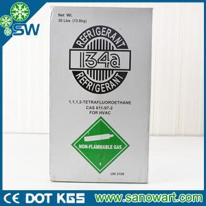 Quality R134a refrigerant gas R134A tetrafluoroethane for sale