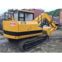 China Small Caterpillar E70B Midi Used Cat Excavator , Origin Weight 6900kg on sale