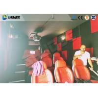 Quality Motion Seat In XD Theatre With Cinema Simulator System / Special Effect Machine for sale