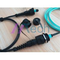 China ODVA Waterproof MPO Patch Cord Outdoor MPO Optical Fiber Assembly on sale