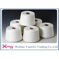 Quality Ne40 Colored 100% Yizheng  Spun Polyester Yarn Raw White For Sewing for sale