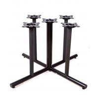Modern Style Bistro Table Base / Pub Table Legs Spider Size 10X10'' For Bar