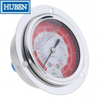 """Buy cheap 2.5"""" GAUGE - CENTER BANK W/ FLANGE (30""""HG - 30 PSI) - LIQUID-FILLED from wholesalers"""