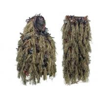 Quality Light Weight Leafy Hunting Suit Camo Hybrid Woodland Camouflage Ghillie Hunting Suit for sale