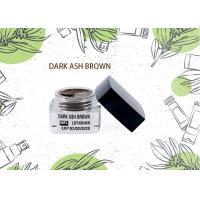 China Dark ASH Brown Eyebrow Tattoo Pigments Lushcolor Permanent Makeup Cream Pigment on sale