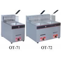 Buy cheap 5.5L-16L Restaurant Cooking Equipment , Energy Saving Commercial Gas Fryers from wholesalers