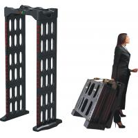 Quality Collapsible Quick Install Portable Walk Through Metal Detector 35kg Net Weight for sale