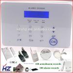 Quality wireless siren with door/smoke/PIR sensor house burglar alarm system for sale