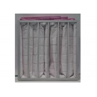 Quality Polyester Ahu 3500m³/H Pocket Air Filter / Bag Filter F7 To F9 Efficiency for sale