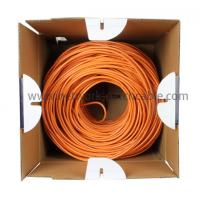 Best PE Insulation Network Cat5e SFTP Cable Lan Cables 500 m/roll Orange wholesale