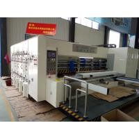 Quality Plastic Sheet Die Cutting Machines Accurate Lateral Movement With Smooth Slotting for sale