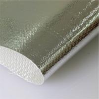 Quality Aluminum Coated Glass Fiber Cloth Al3732 High Tensile Thickness 0.4mm for sale