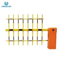 Quality Brushless DC Motor 3 Fence Arm Parking Barrier Gate Wireless Remote Control for sale